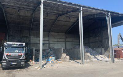 Brandprävention auf Recyclinganlagen und Müllbunkern